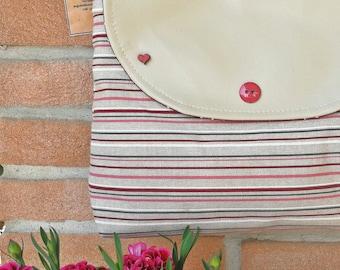 Borsa a tracolla Borsa in cotone Borsa di stoffa Borsa ecopelle Borsa estiva Shoulder bag Cotton bag Summer bag EcoLeather Bag
