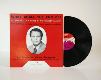 Jimmy Swaggart - What Shall the End Be? / vintage vinyl album