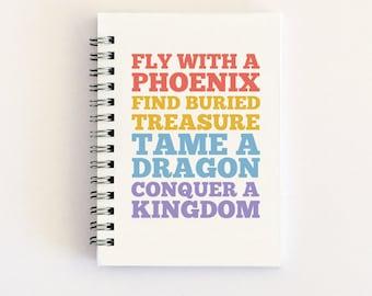Adventure Notebook Journal, Travel Adventure Book Gifts, Handmade Travel Journal, Adventure Awaits Book Travel Notebook Gift, Story Starters