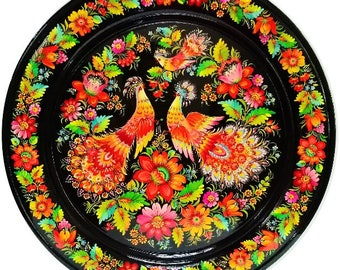 Decorative plate MORNING SONG 50 cm