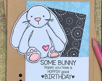 Some Bunny - Birthday Card