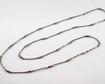 Brown Hematite necklace perfect for Aries and Scorpio zodiac signs