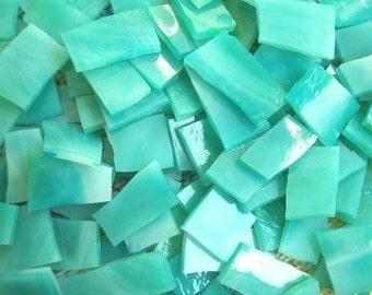 """Mosaic Tiles 100 1/2"""" AQUA Blue SEA Mosaic Tile"""