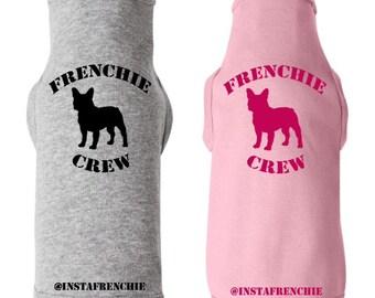Frenchie Crew Tshirt