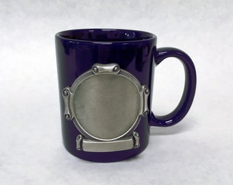 Coffe Mug with Engraveable Emblem