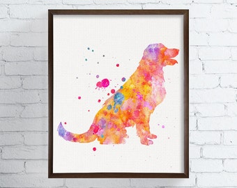 Labrador Art, Labrador Print, Watercolor Labrador, Labrador Wall Art, Labrador Decor, Labrador Ornament, Labrador Poster, Watercolor Dog