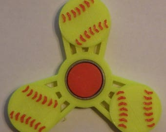 Softball Fidget Spinner