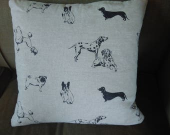 Cushion with Dogs