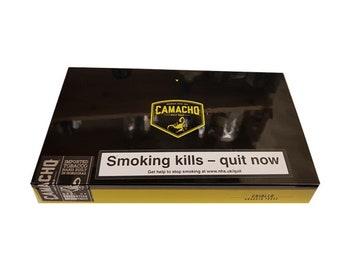Premium Glossed Camacho Empty Cigar Box