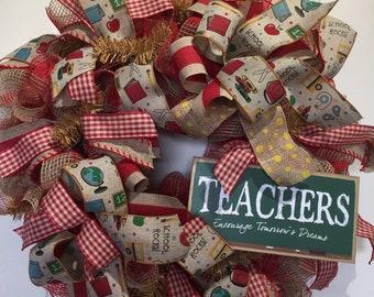 Wreath for Teacher