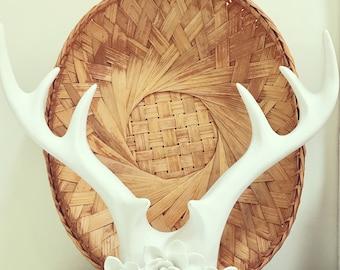 Woven Basket Wall Decor