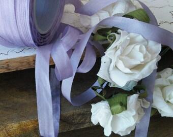 Lavender Silk Ribbon, small, romantic, beautiful