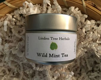 Wild Mint Tea // Wildcrafted Herbal Tisane
