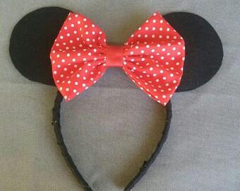 Mouse Ears Headband (ON SALE)