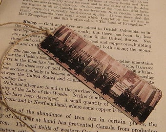 Bookmark Feminist bookmark metal bookmark Votes for Women