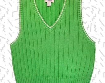 Izod Green Sweater Vest