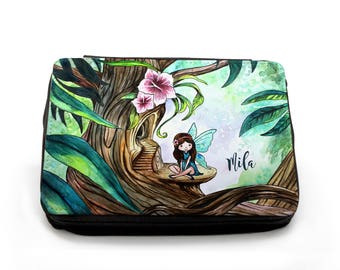 Pencil Case Fairy with Custom Name FM100