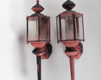 Outdoor Gothic 6-Sided Lanterns