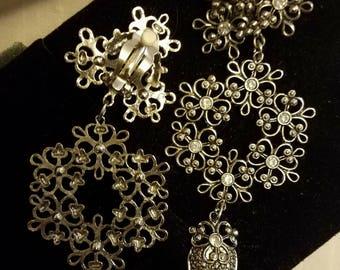 Jose & Maria Barrera: Vintage Chandelier Earrings