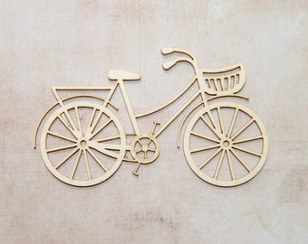 Chipboard laser cut bicycle