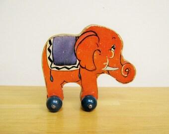Vintage Fisher Price Woodsy-Wee Elephant