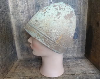 Vintage French Theater Reproduction Medieval Norman Helmet Clothes Armour Outfit Prop Re-enactment Display Collector c1930's / English Shop