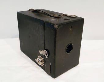 1920s Eastman Kodak Rainbow Hawk-Eye No.2 Model C Box Camera