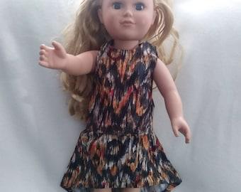 Hi-Lo skirt and top