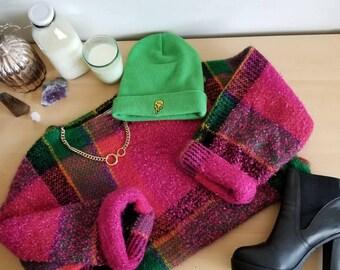 Frida Boxy Popcorn Knit Sweater