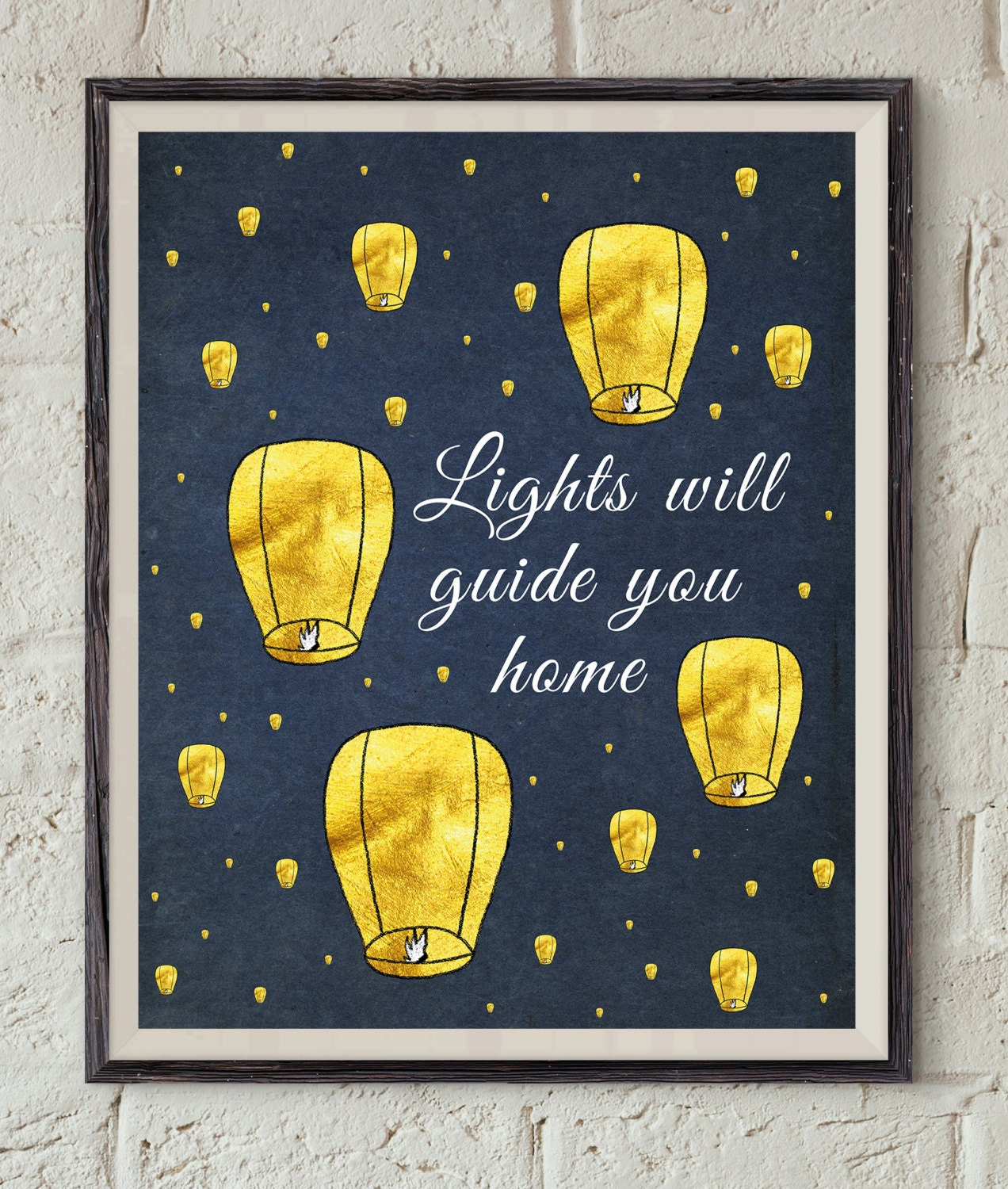 Coldplay Song Lyrics Lights Will Guide You Home Paper