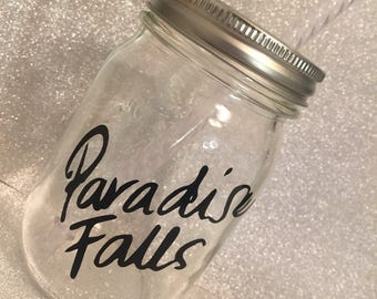 Original Paradise Falls Coffee Cup