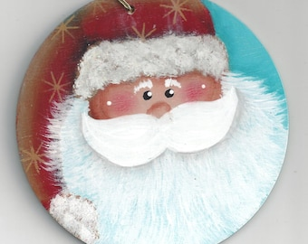 Santa Face Ornamnet