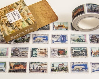 Masking Washi Tape-stamps/Filoxafing DIY scrapbooking deco tape