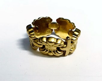 18ct Yellow Gold Flexible Ring