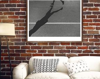 Shadow Runner - Photograph