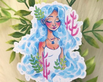 Water Girl Stickers!