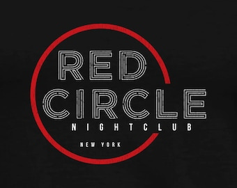 Red Circle Nightclub T-Shirt