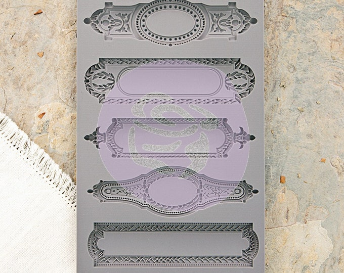 Iron Orchid Designs - Object Labels II - Moulds