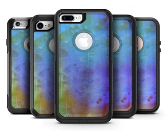 Lined 4453 Absorbed Watercolor Texture - OtterBox Case Skin-Kit for the iPhone, Galaxy & More