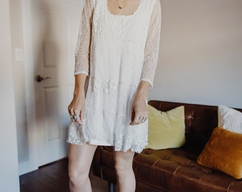 Lace Baby Doll Dress