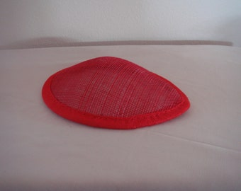 Red Mini Teardrop Hat for Costumes (G-H)