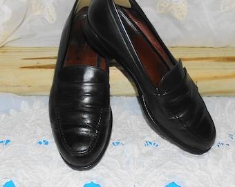 Mens Vintage COACH Leather Shoes Penny Loafers Flats Dress Shoes / Size 10 M