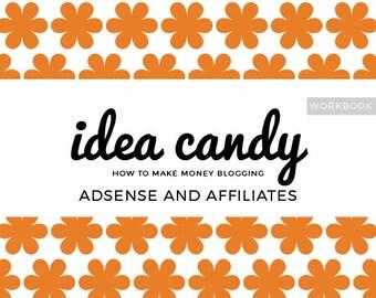 Adsense and Affiliates Workbook - How to Make Money Blogging - PDF DOWNLOAD