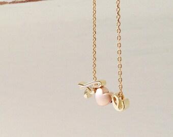 Dainty Gold Initial Charm Initial Bracelet Flower Girl Bracelet Flower Girl Gift Kids - DCIBR