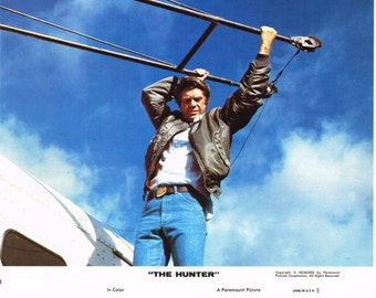 The Hunter -  Steve McQueen - 1980  8 x 10 US mini lobby card - Card No3