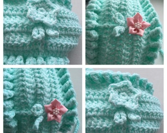 Flower Hat PDF crochet pattern
