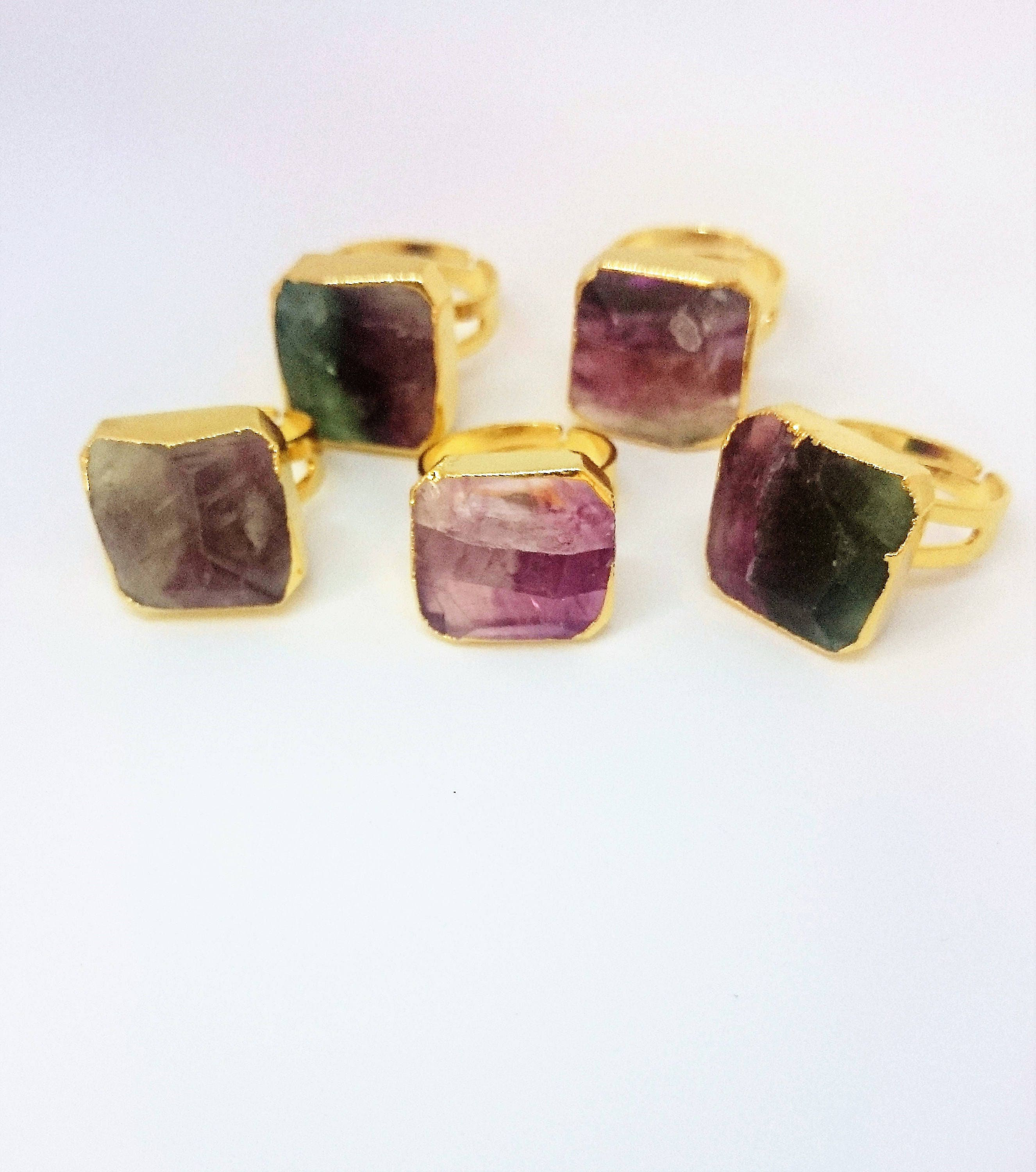 p crystal electroformed fullxfull copper raw green ring rings us fluorite il