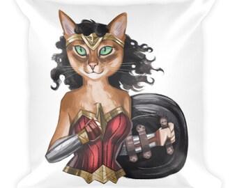 Wonder Cat Cushion