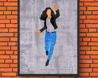 Minimalism Art - Jessica Jones Print