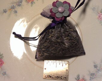 On Sale Lavendar Sachet, 2x3 inches, Smells Wonderful, Soothing, Relaxing, Party Favor, Wedding Favors, Shower Favors, use in place of bows